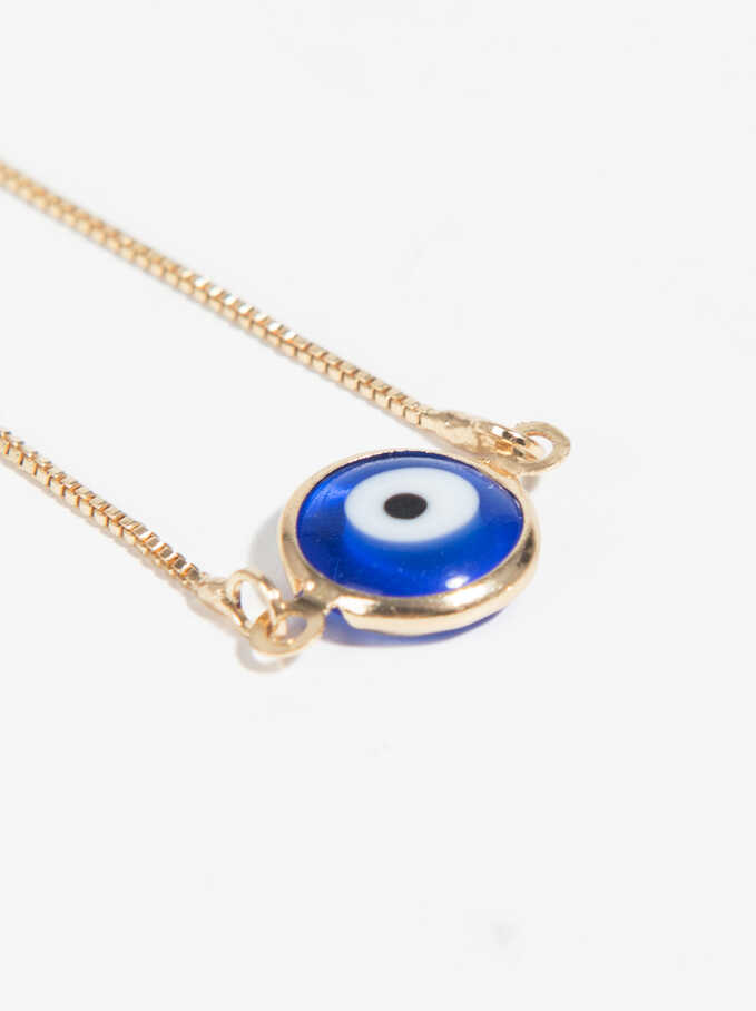Eye Bracelet, Blue, hi-res