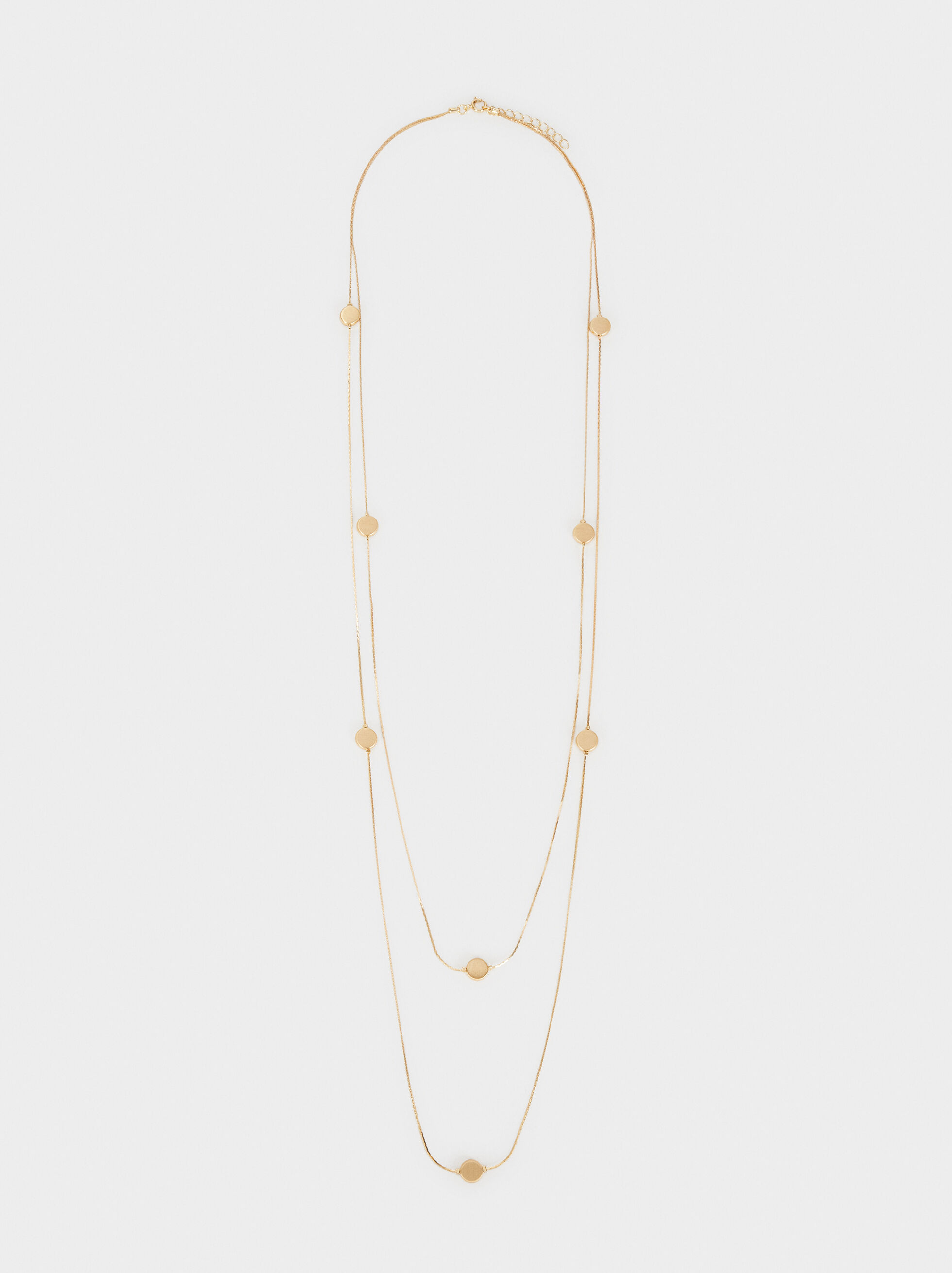 Basic Long Necklace, , hi-res