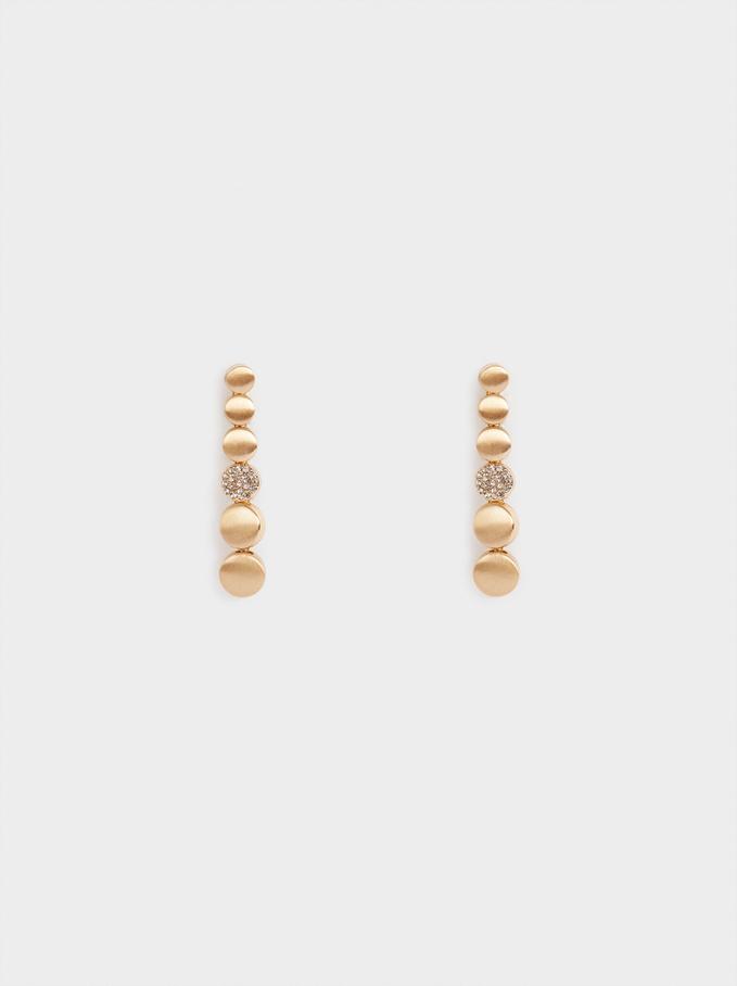 Long Earrings With Zirconia, , hi-res