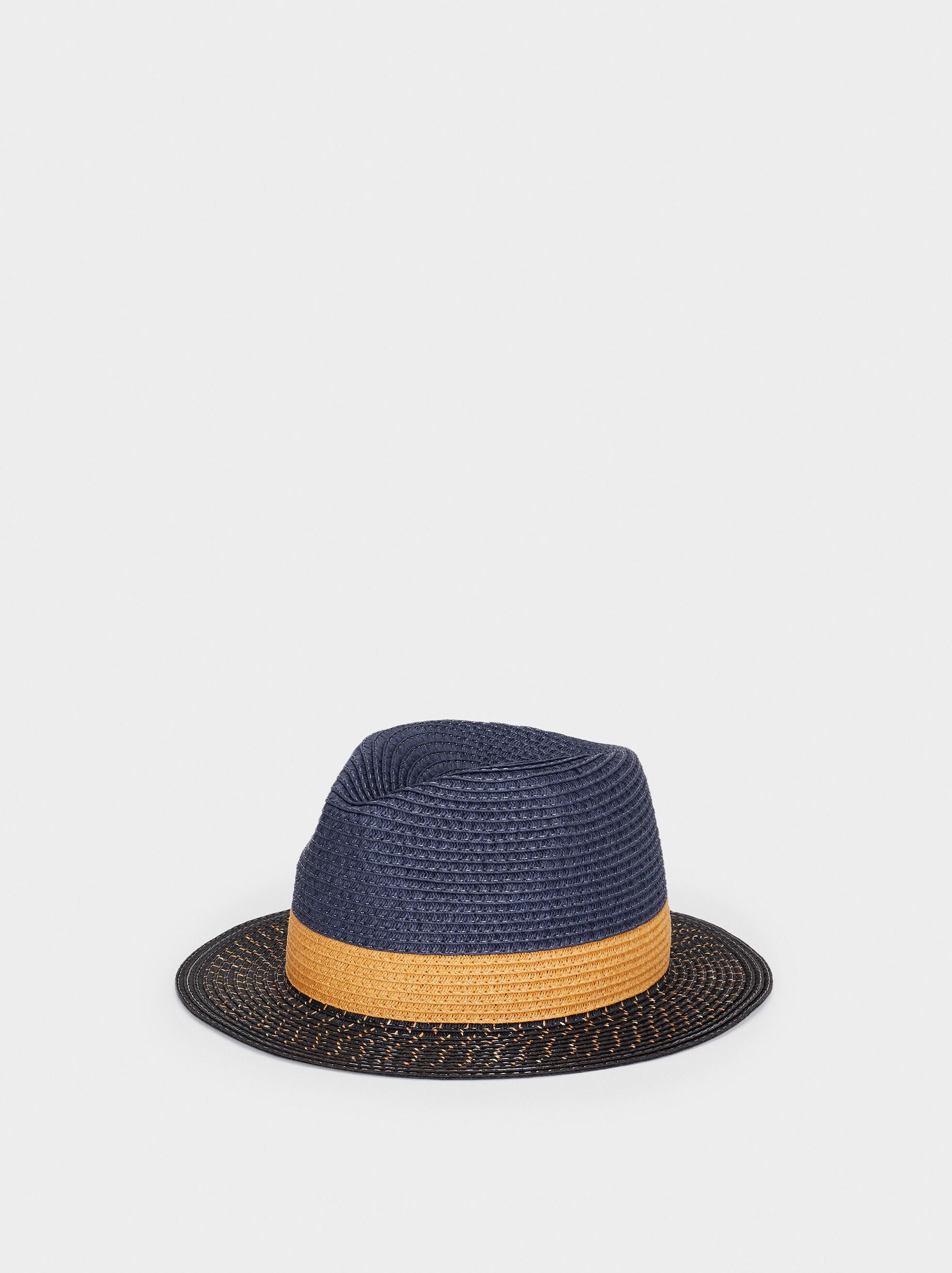 Straw Finish Hat , , hi-res