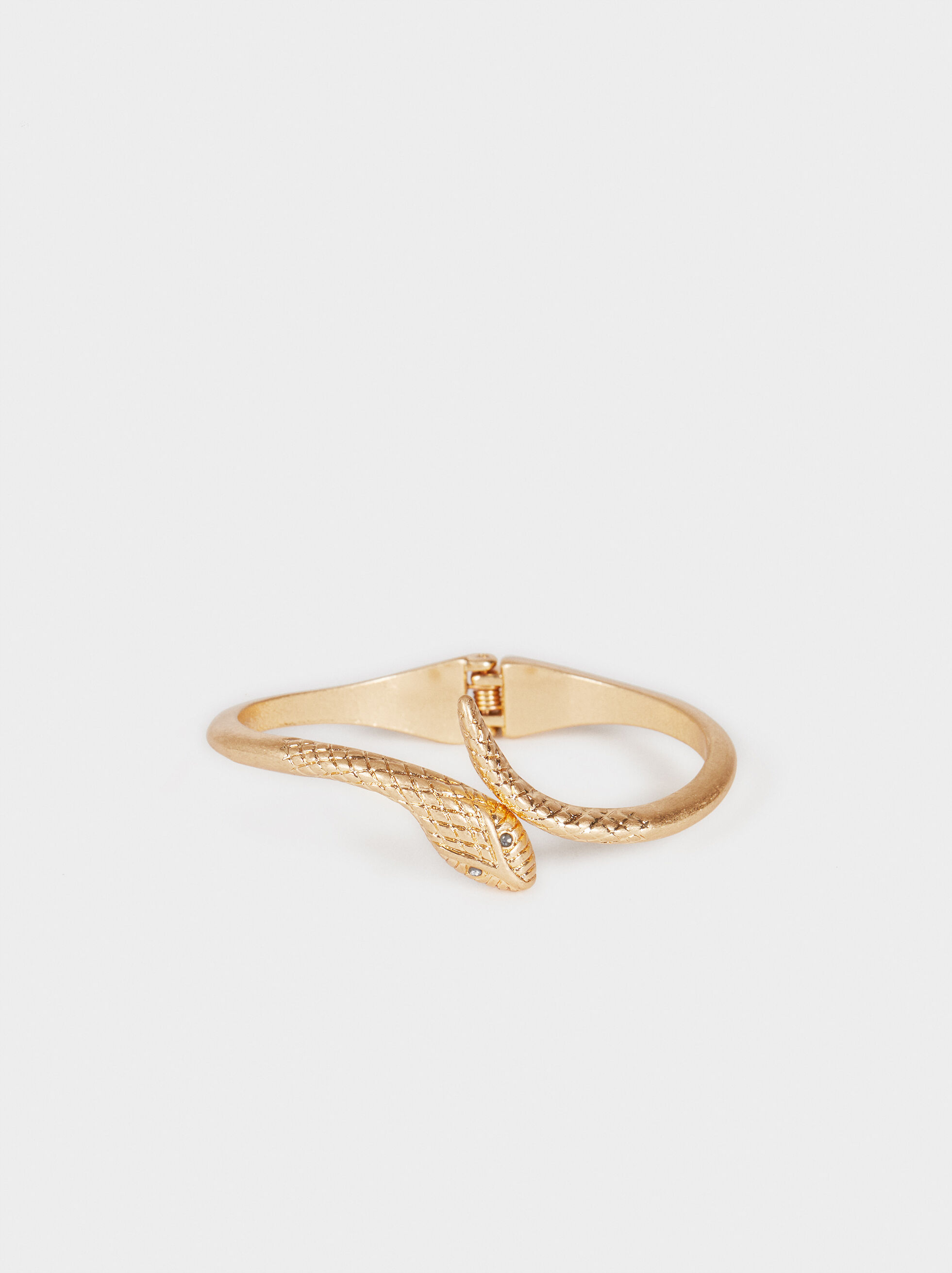 Basic Rigid Bracelet, Golden, hi-res