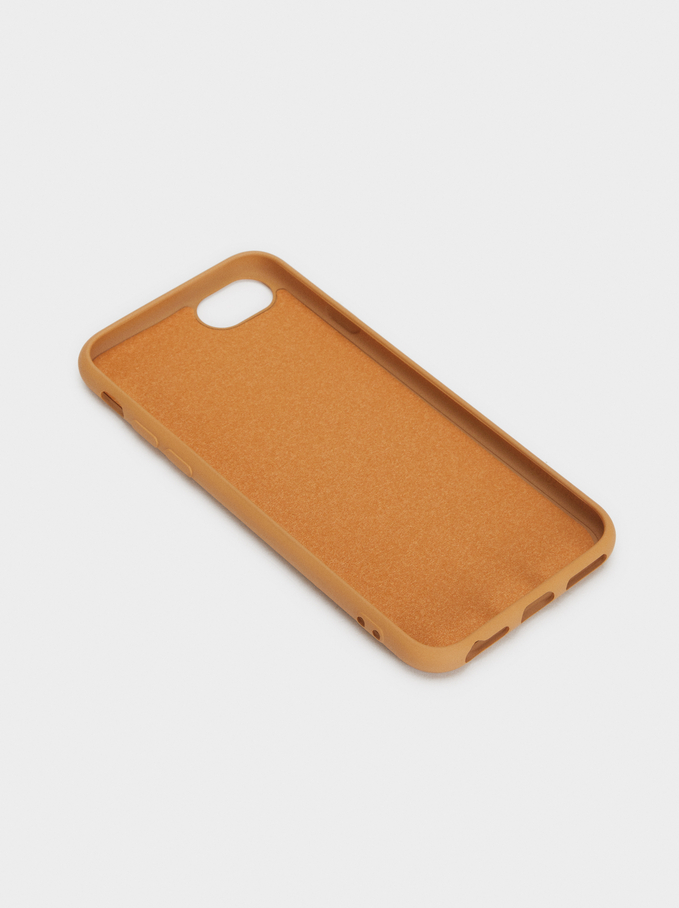 Cover Per Cellulare Con Cuore Iphone 6, 7 E 8, Rosa, hi-res
