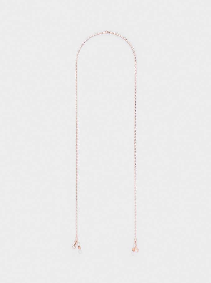 Chain For Face Masks Or Glasses, Orange, hi-res