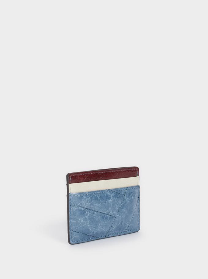 Porta-Cartões Multicor, Azul, hi-res