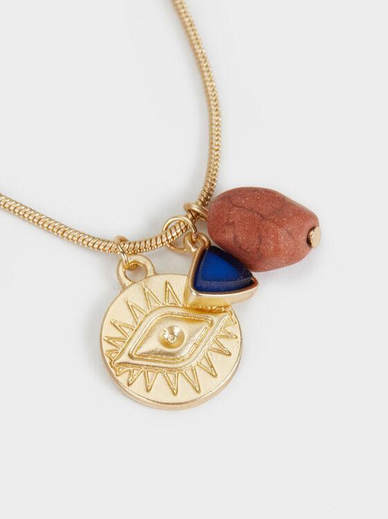 Zorba Short Necklace, Multicolor, hi-res