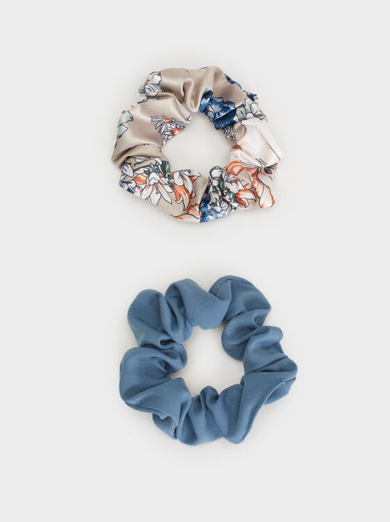 Scrunchie Set, Multicolor, hi-res