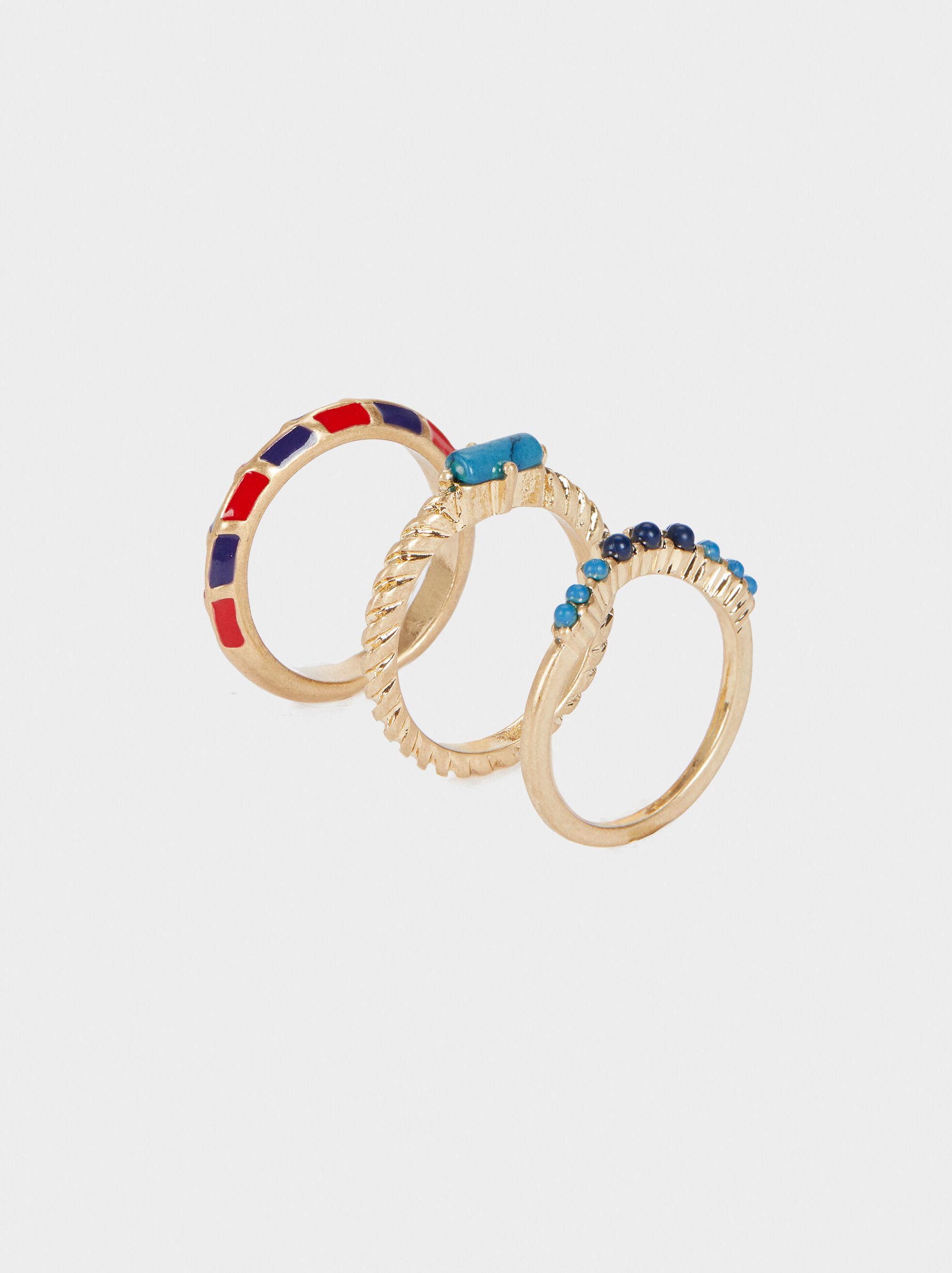 Recife Ring Set, Multicolor, hi-res