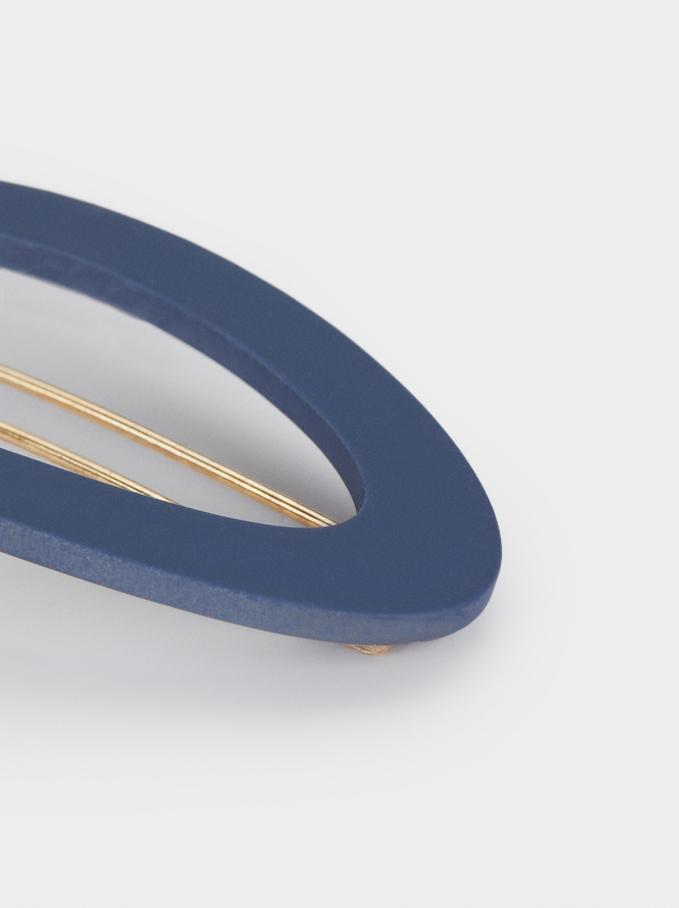 Plain Shape Clip, Blue, hi-res