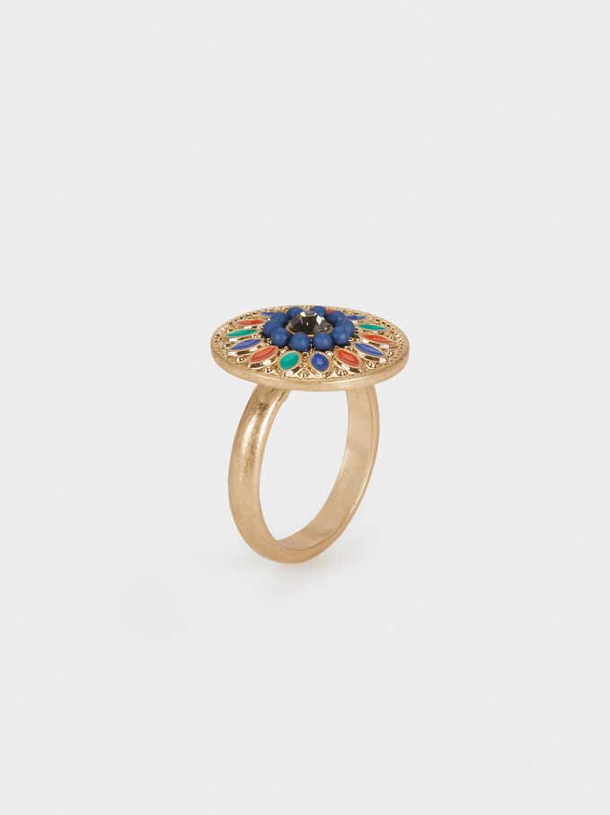 Zorba Shiny Ring, Multicolor, hi-res