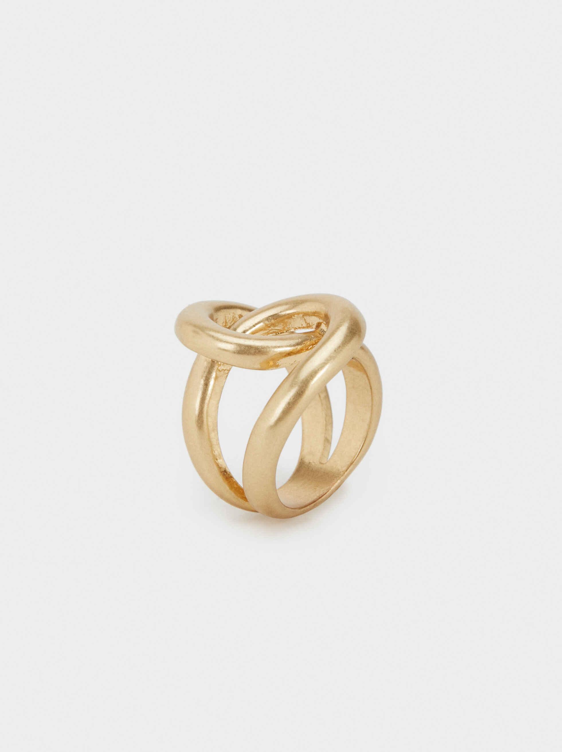Gold-Toned Metal Ring, , hi-res