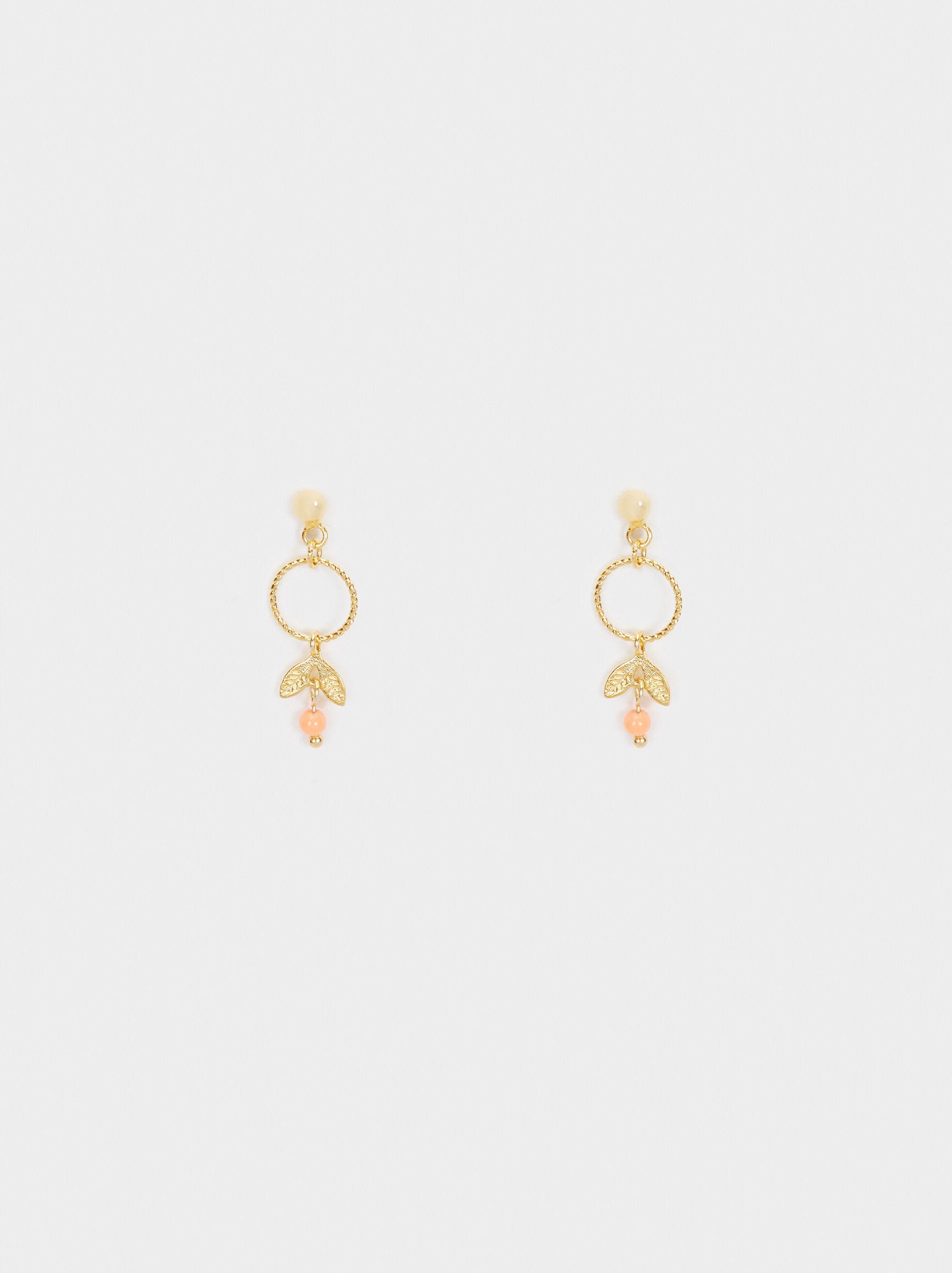 925 Silver Long Earrings, , hi-res