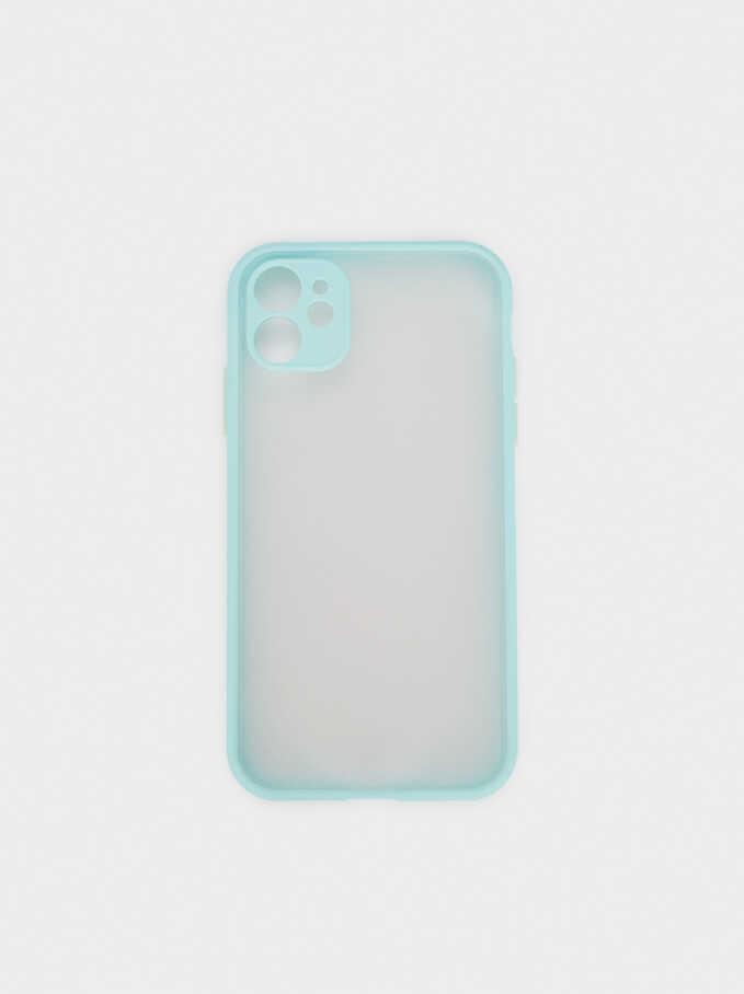 Étui Pour Portable Iphone 11, Bleu, hi-res