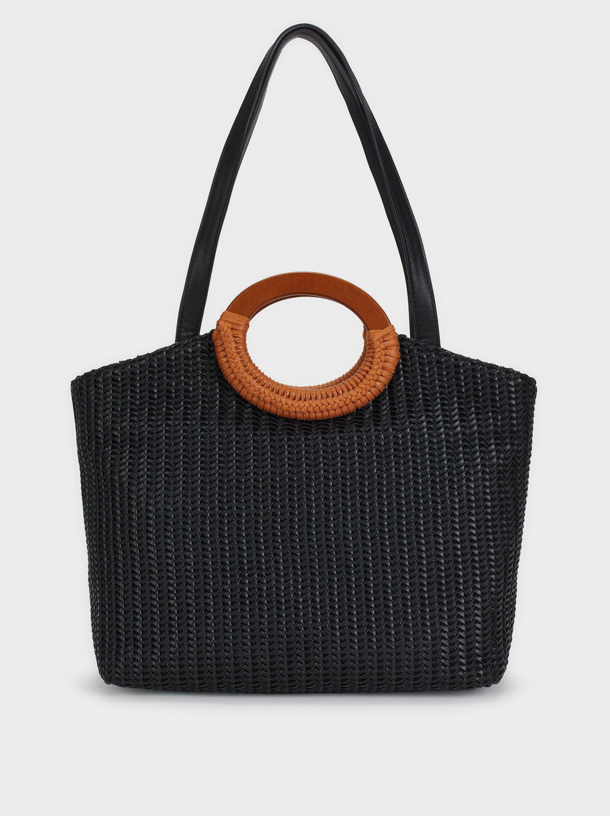 Braided Tote Bag, , hi-res