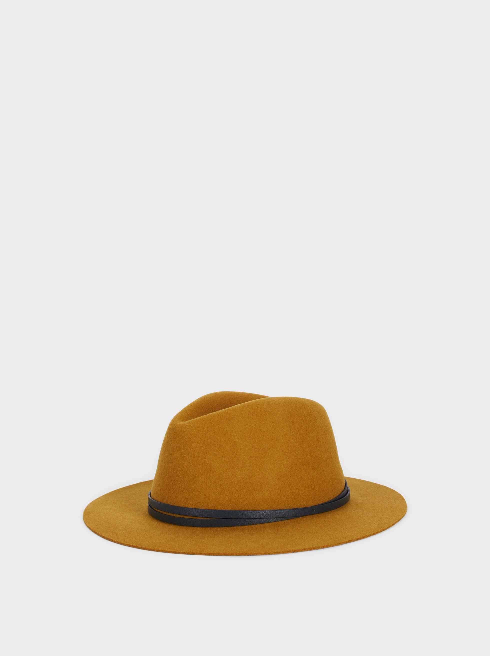 Sombrero De Lana, Mostaza, hi-res