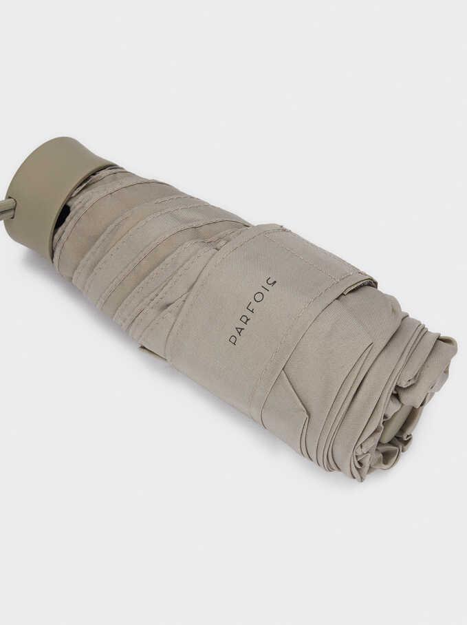 Small Folding Umbrella, Grey, hi-res