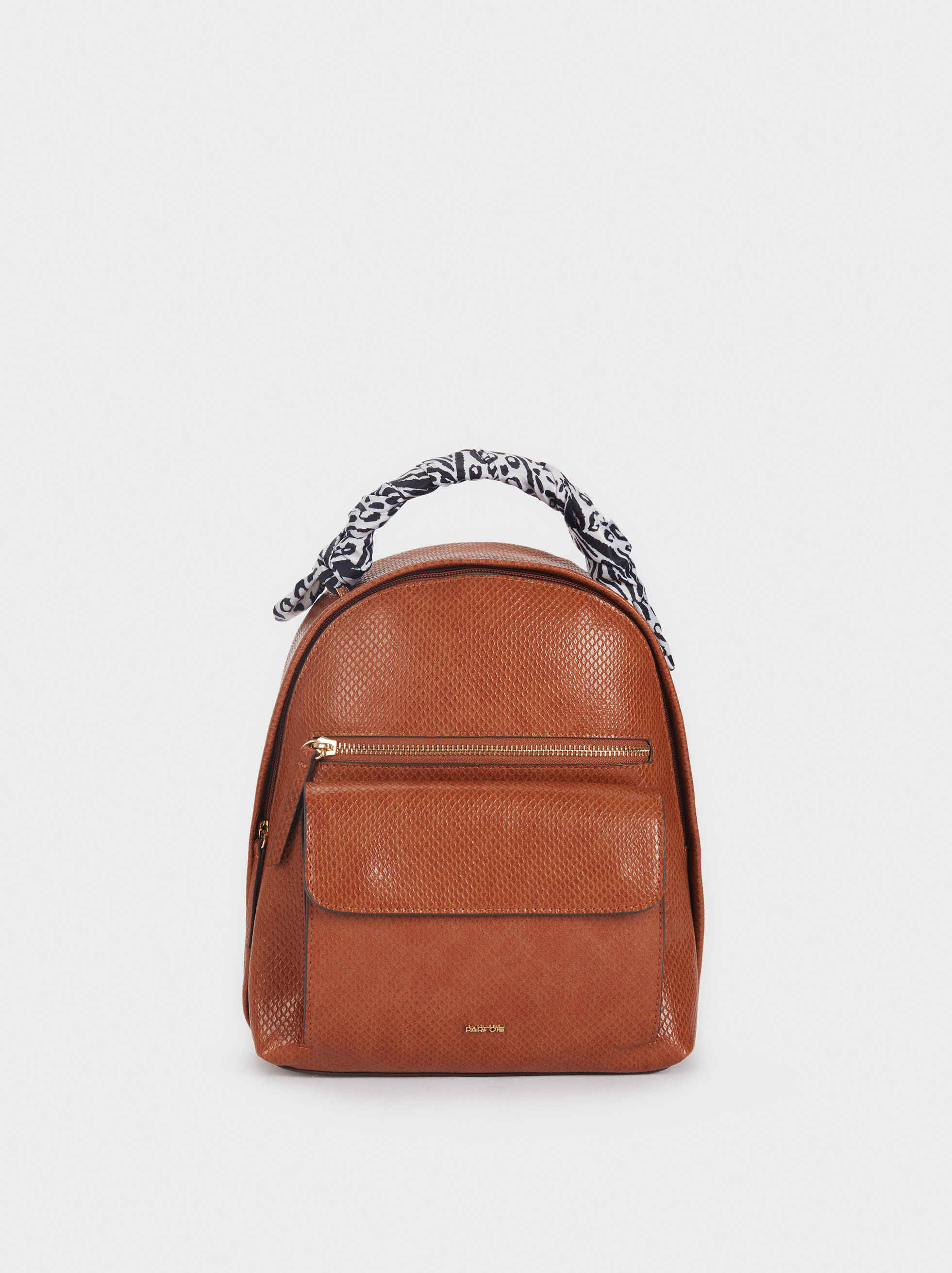 Backpack With Contrasting Printed Handle, , hi-res