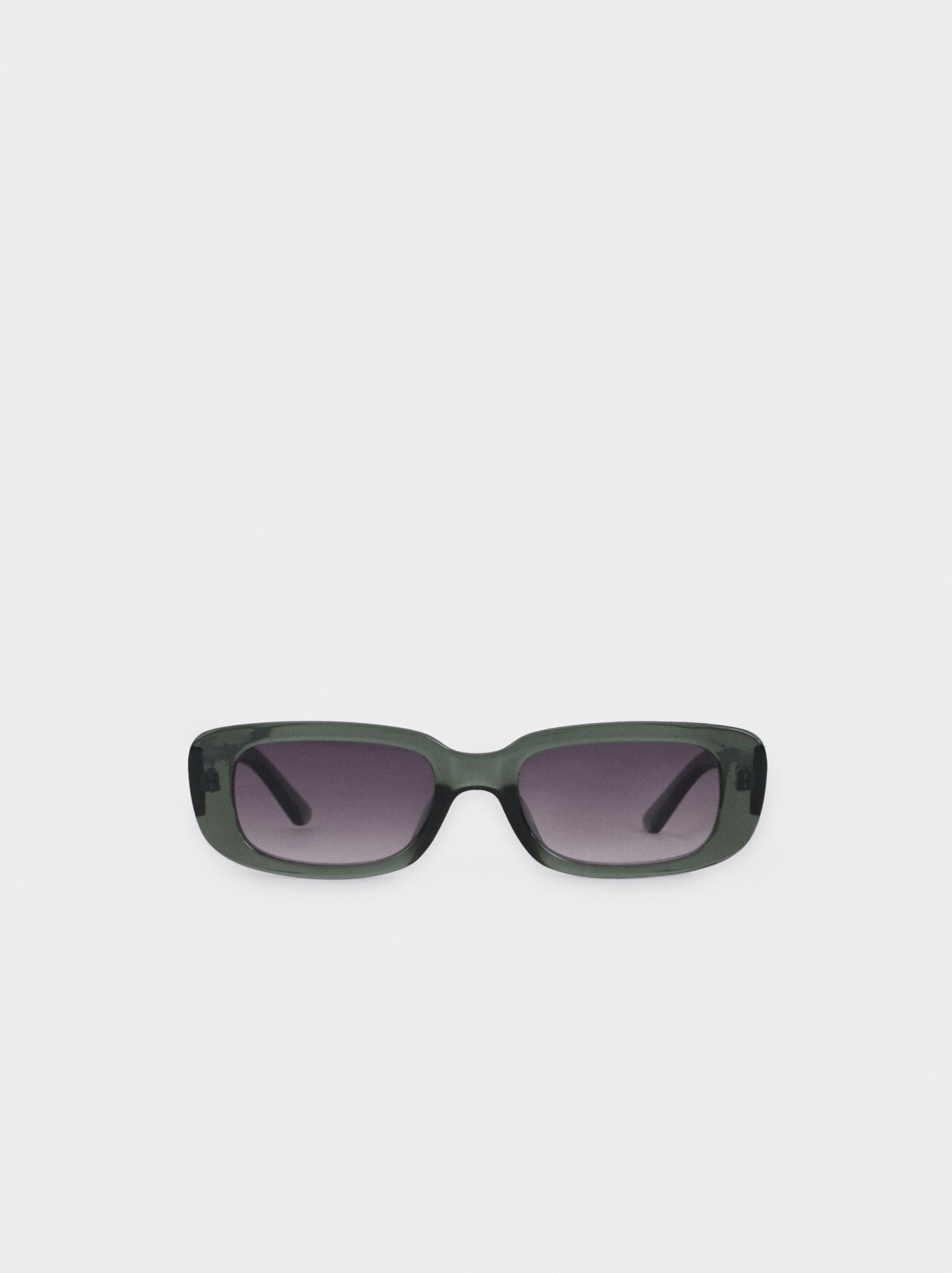 Square Sunglasses, Green, hi-res