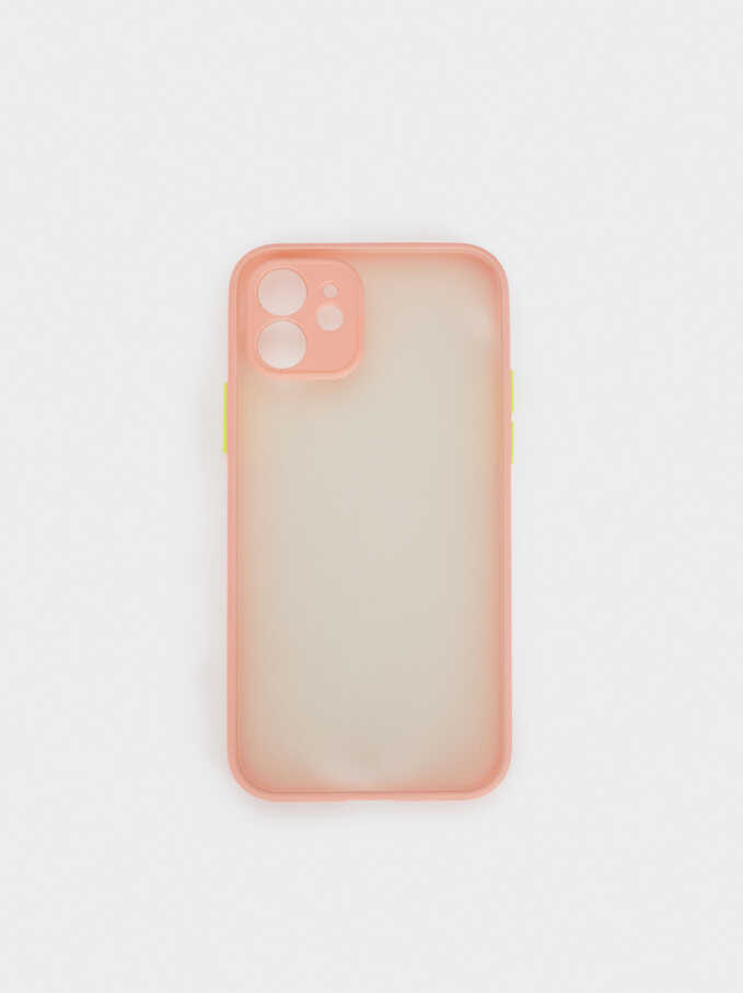 Iphone12 Phone Case, Pink, hi-res