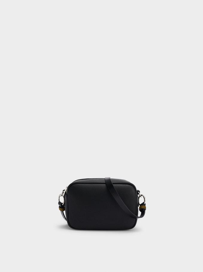 Crossbody Bag With Multiway Strap, Black, hi-res