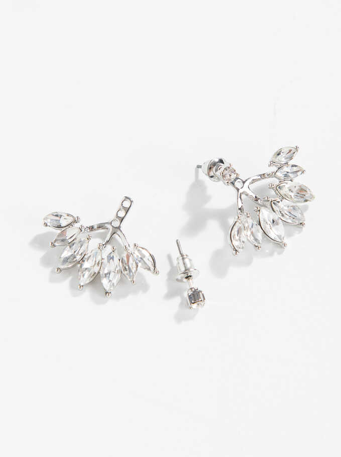 Earrings Basic, Silver, hi-res