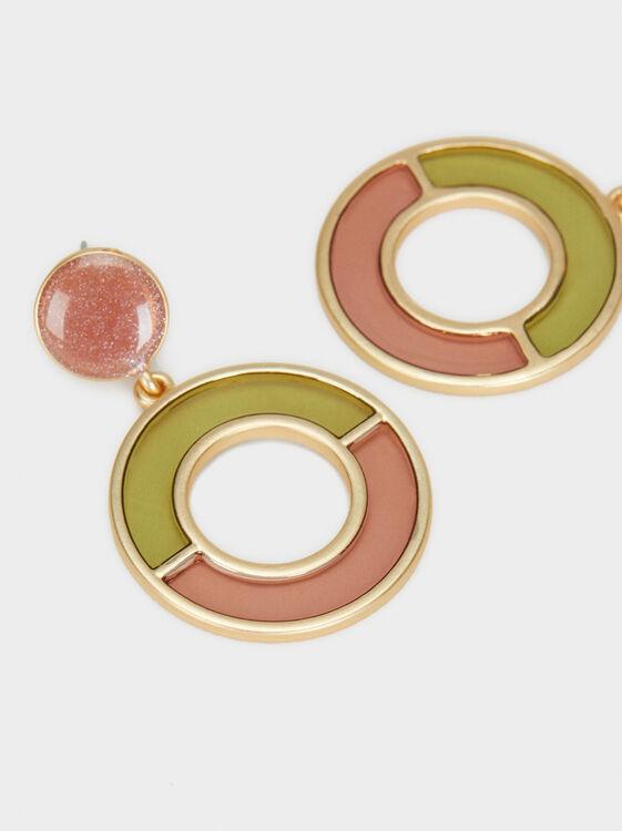 Bubbles Medium Earrings, Multicolor, hi-res