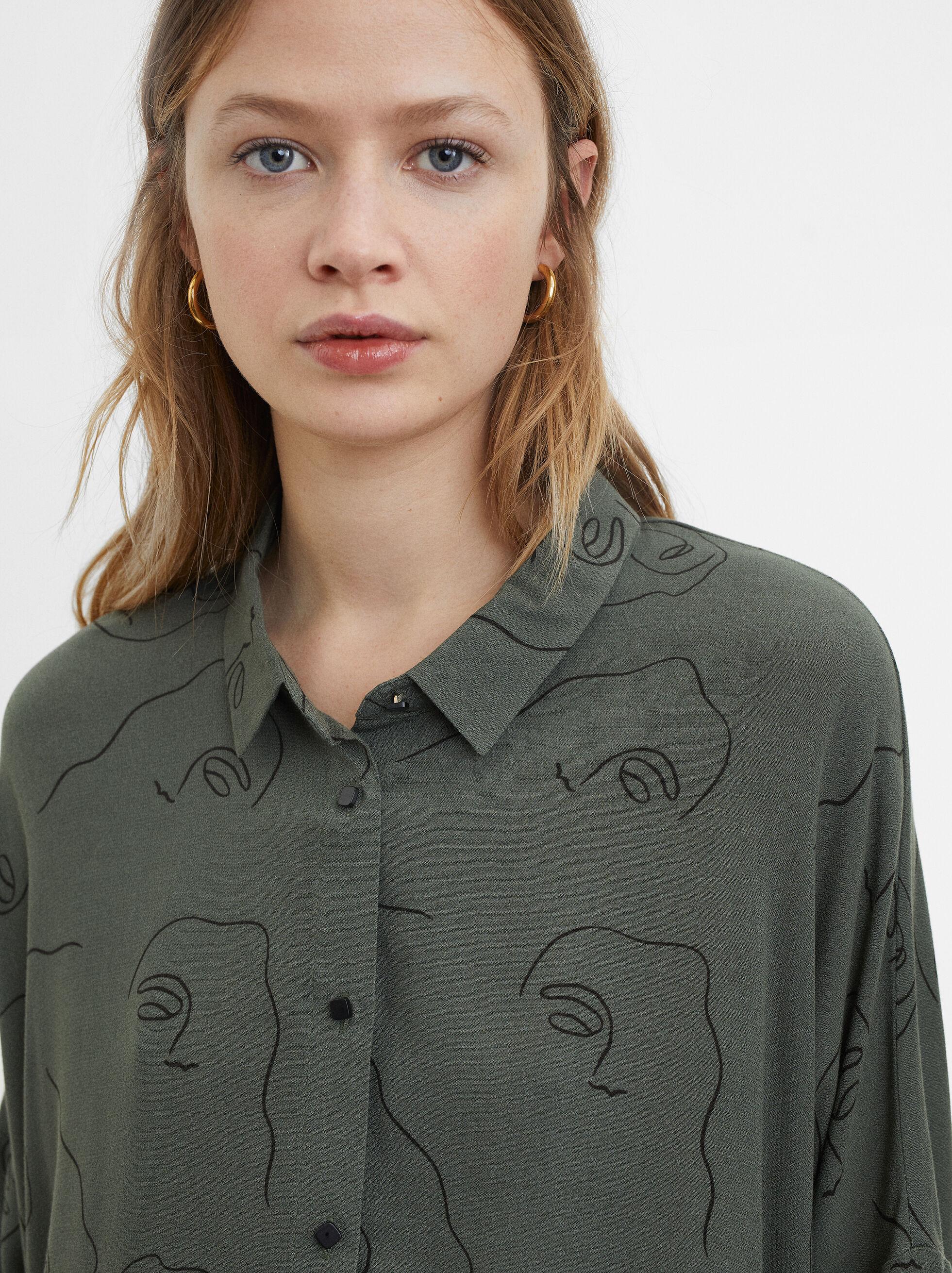 Printed Shirt, , hi-res