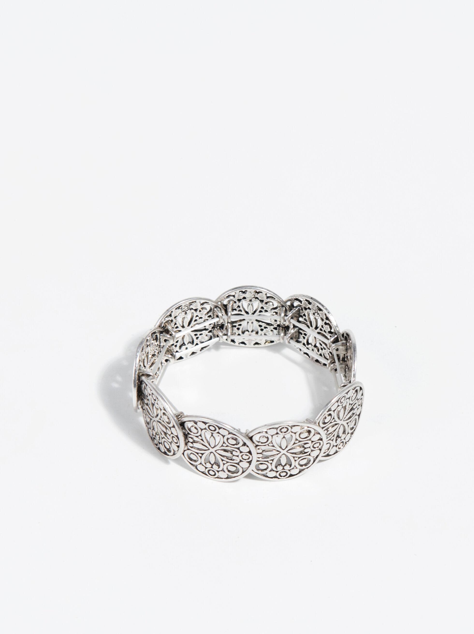 Basic Bracelet, Silver, hi-res