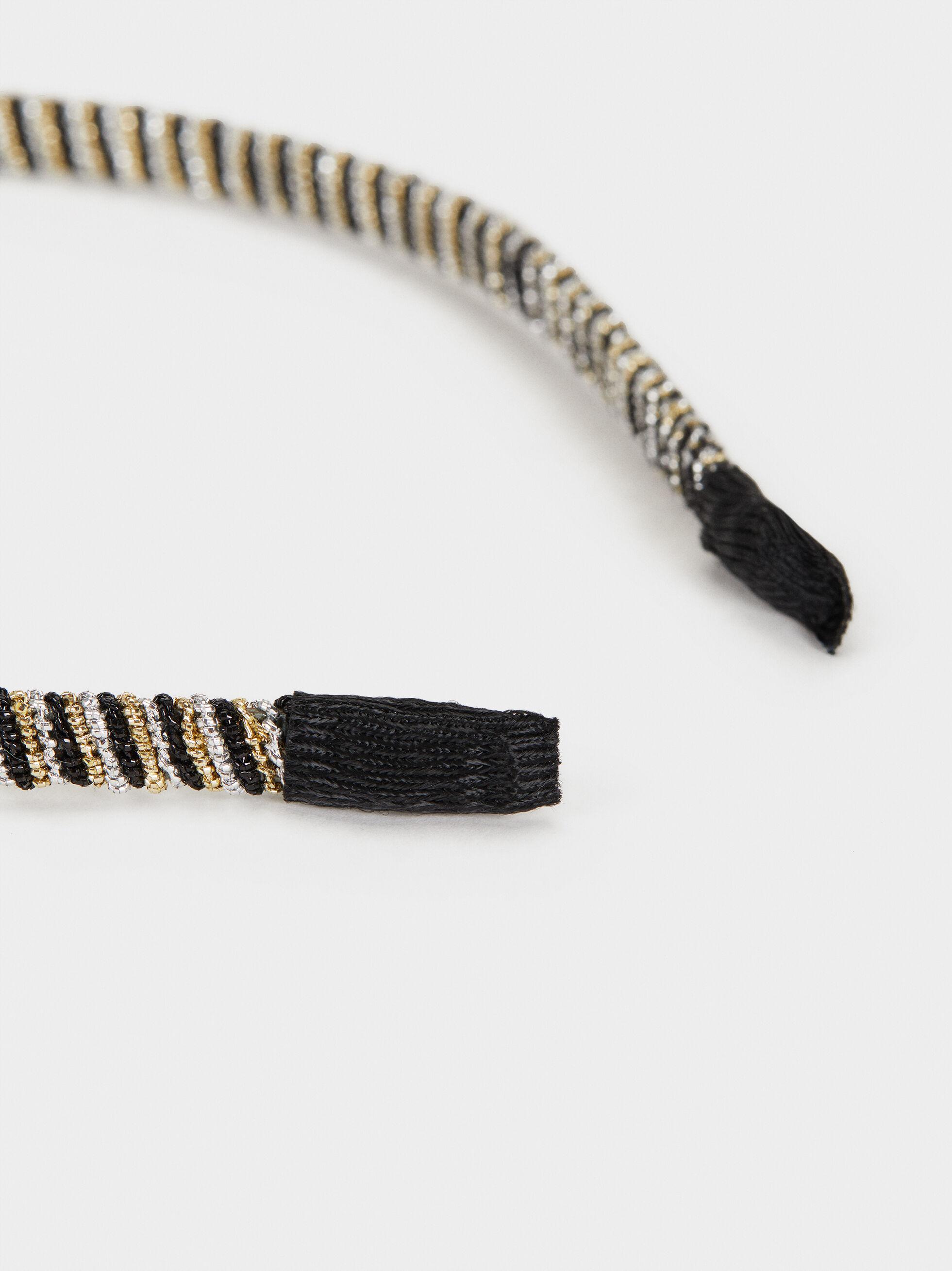 Headband With Shimmer Thread, Multicolor, hi-res