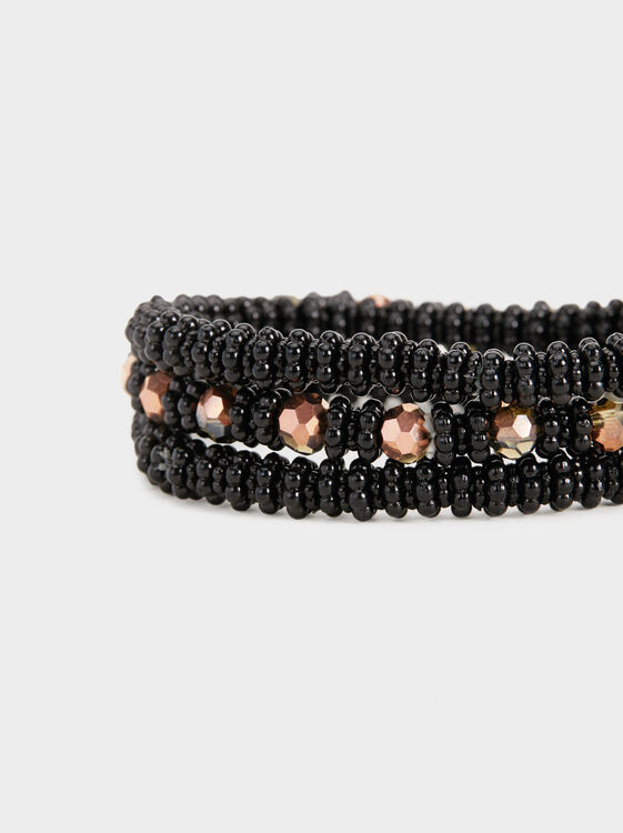 Star Dust Set Of Elastic Bracelets With Beading, Multicolor, hi-res