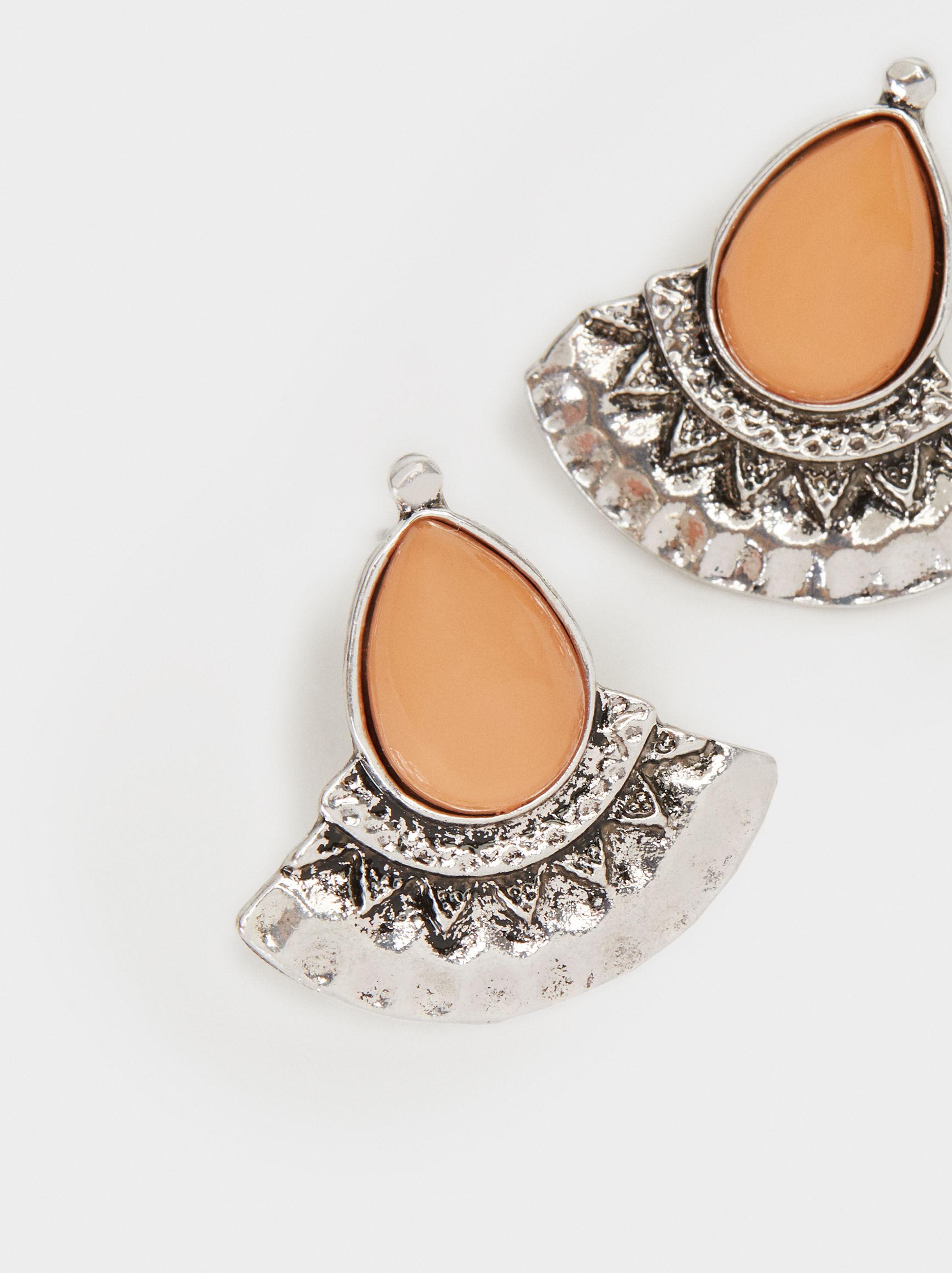 Star Valley Short Earrings, Multicolor, hi-res