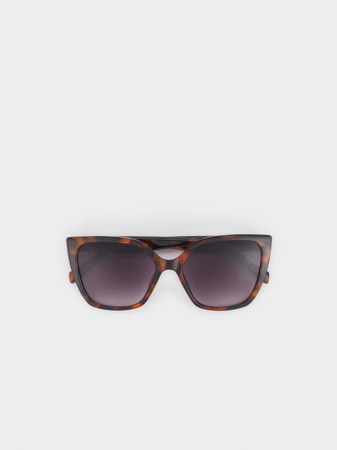 Gafas De Sol Tortoise, Marrón, hi-res
