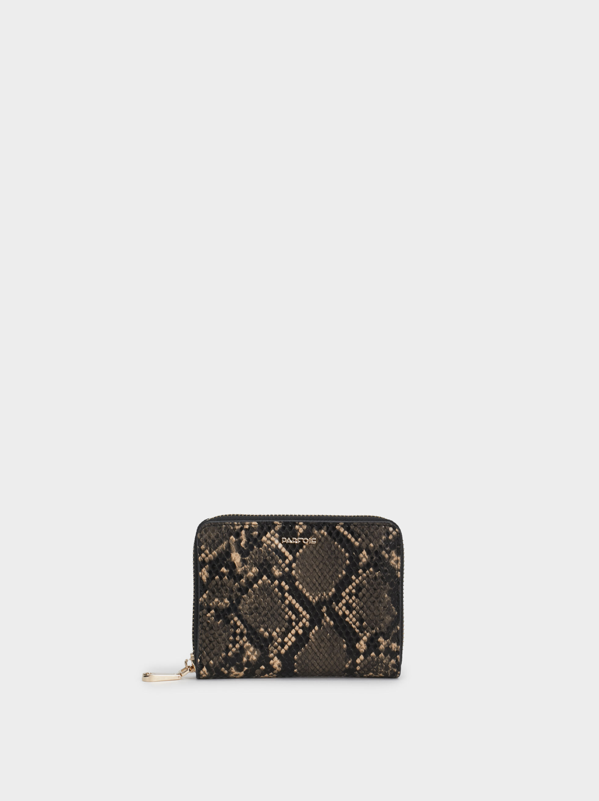 Small Faux Snakeskin Purse, , hi-res