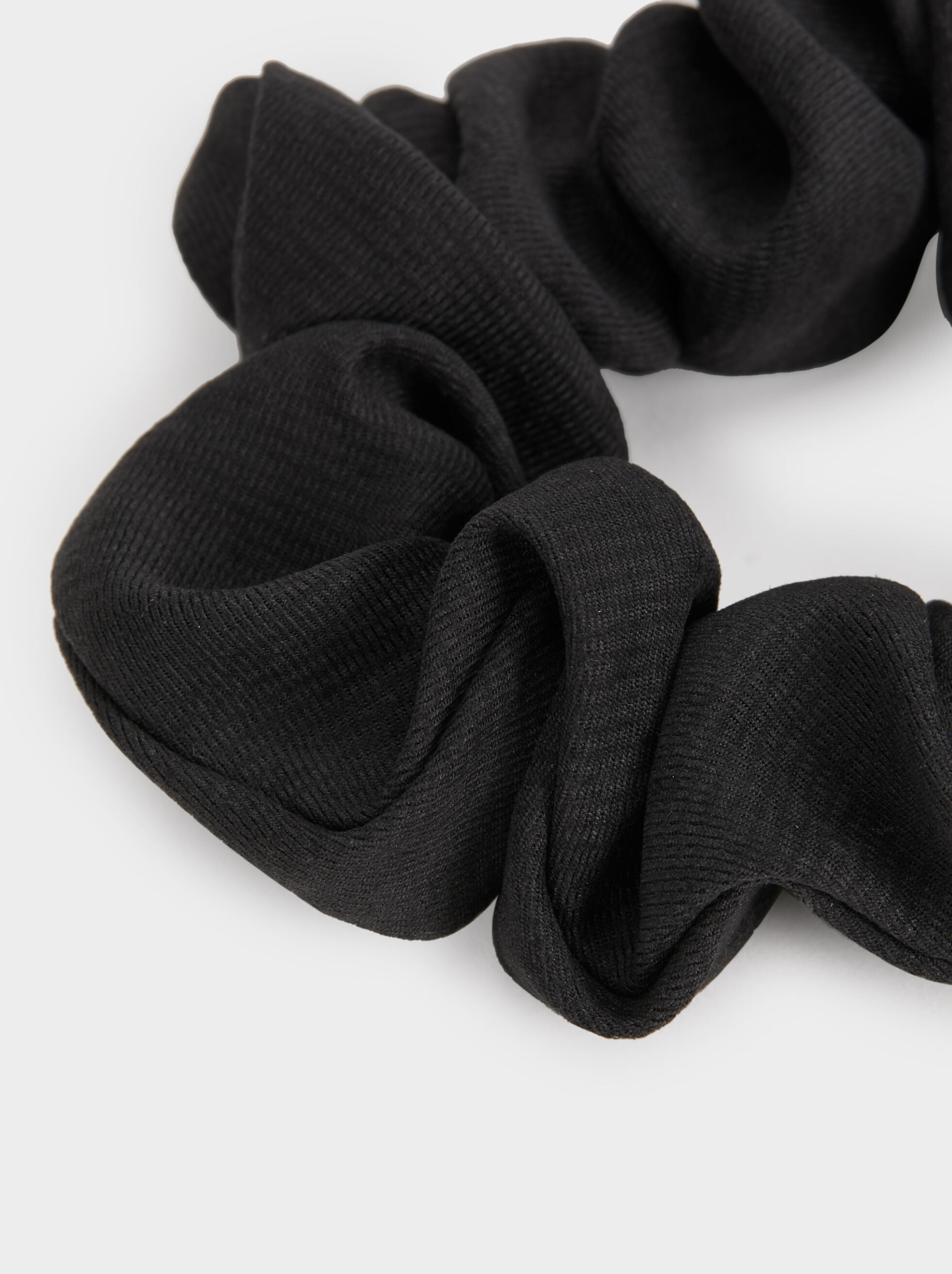 Basic Scrunchie, Black, hi-res