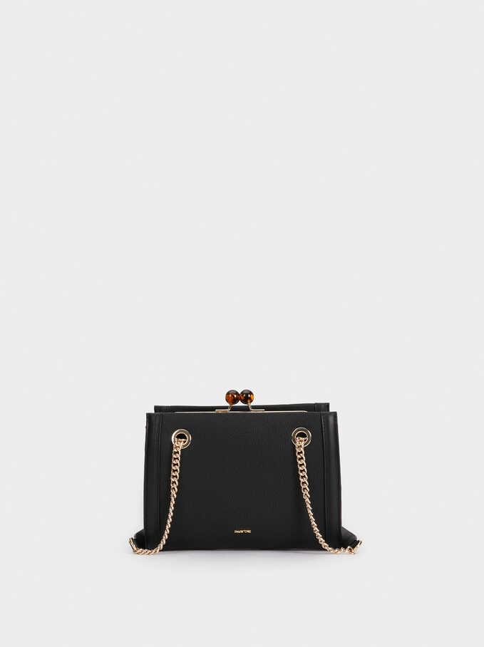 Valerie Cross Bag, Black, hi-res
