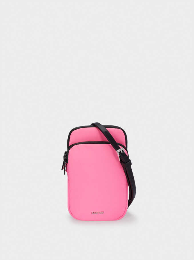 Nylon Phone Case, Pink, hi-res