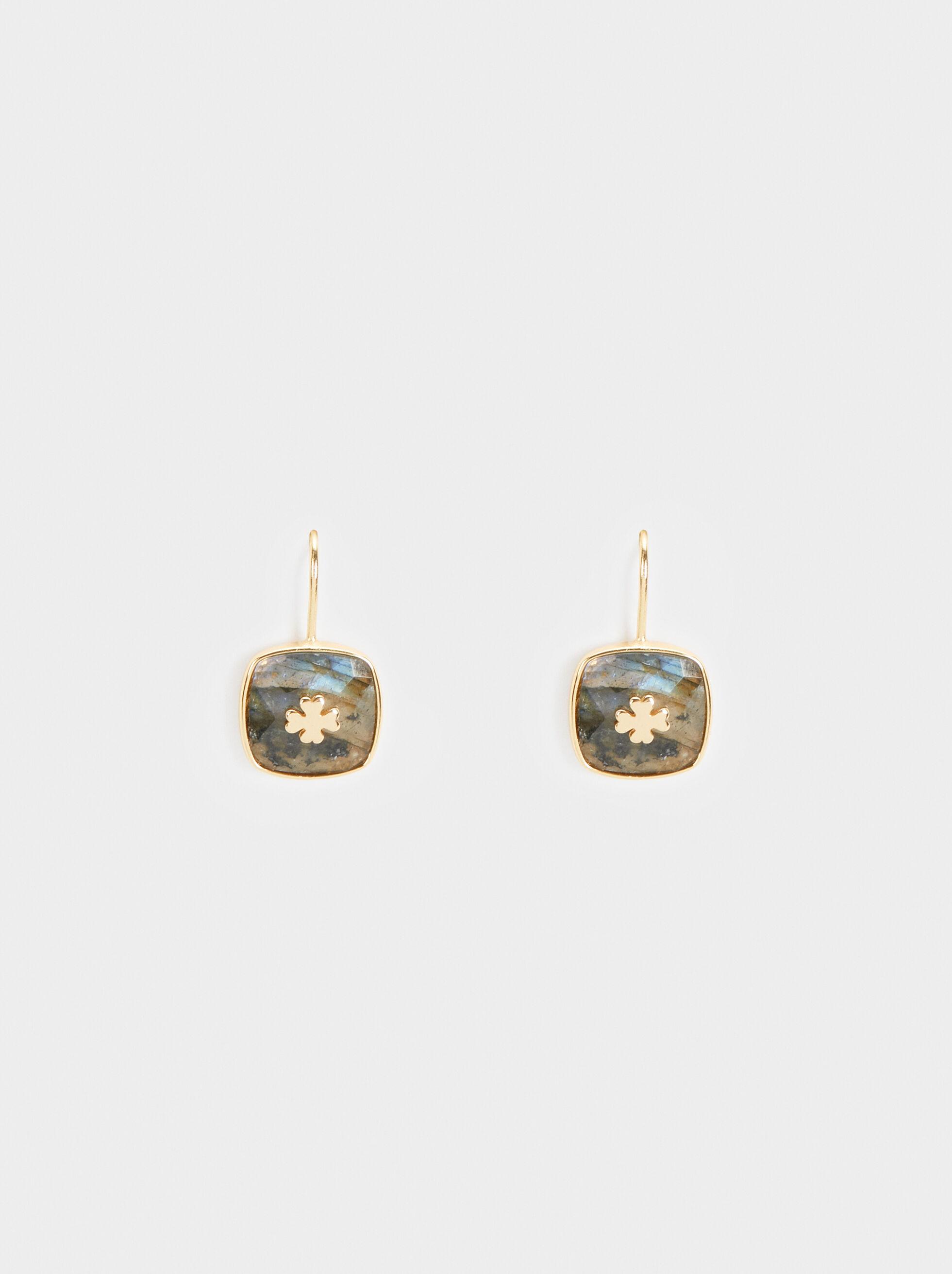 925 Silver Cross Earrings, , hi-res