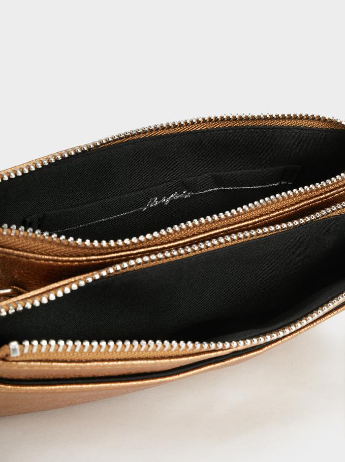 Reflex Cross Belt Bag, Golden, hi-res