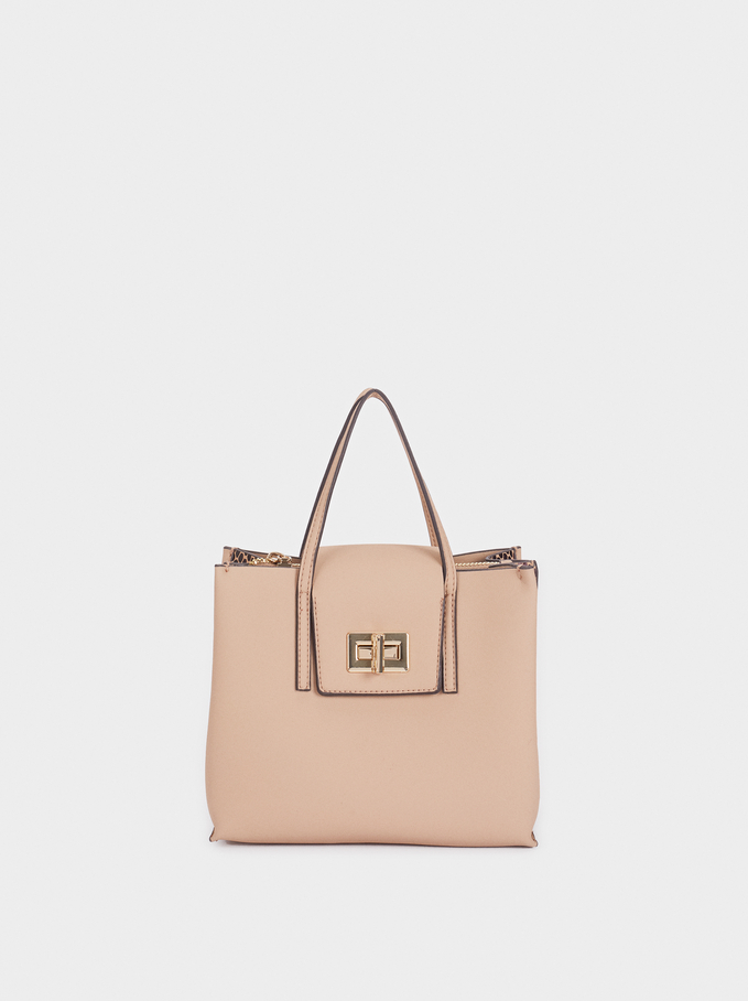 Mur Shopper, Beige, hi-res