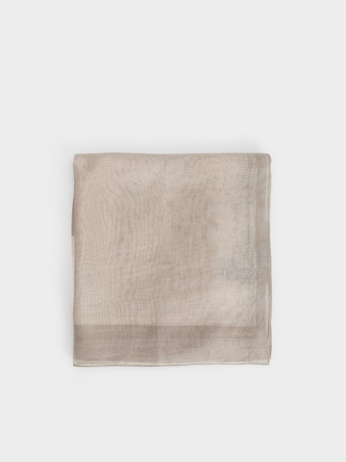 Formal Pocket Square, Pink, hi-res