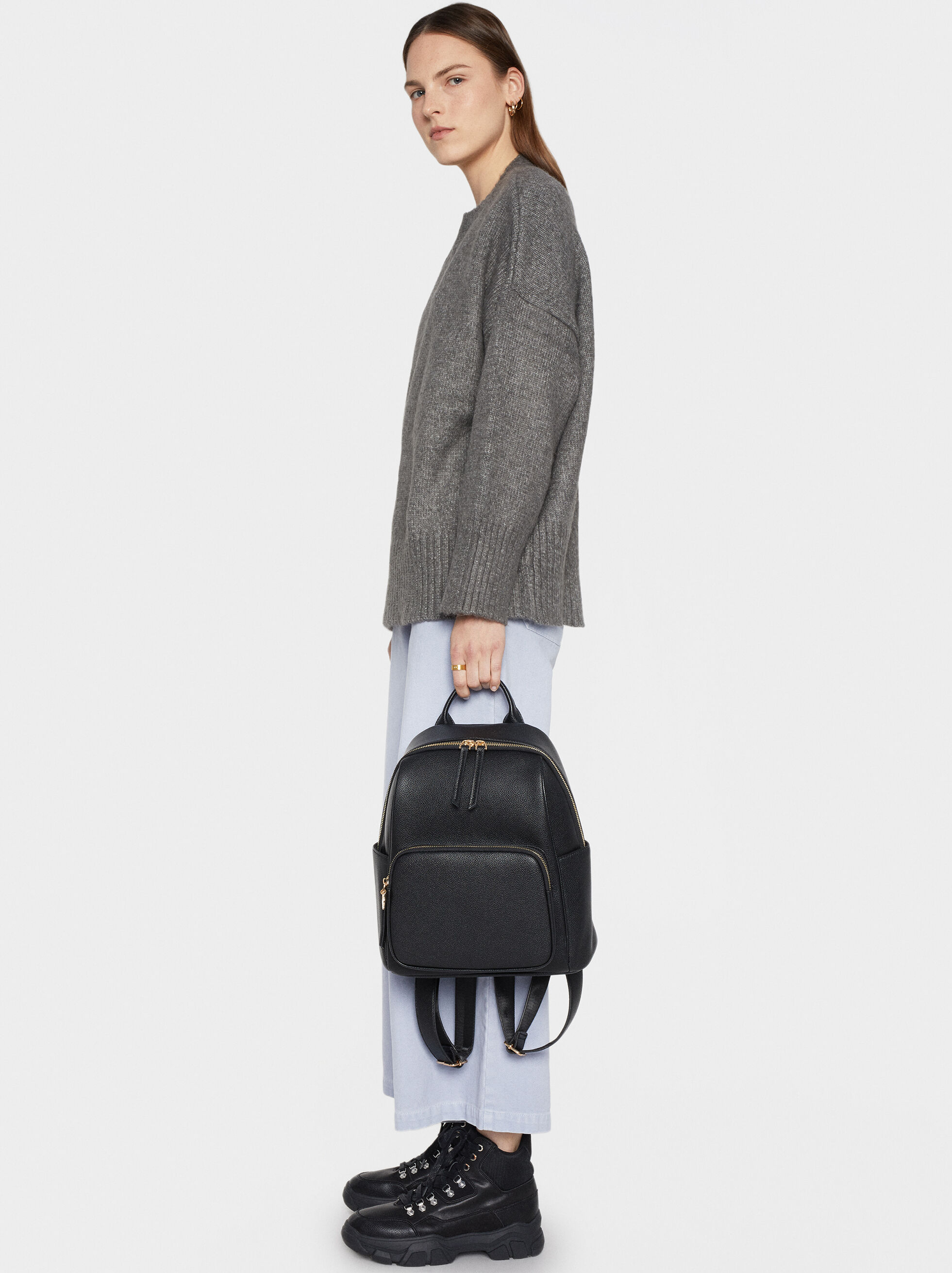 Backpack With Outer Pocket, , hi-res