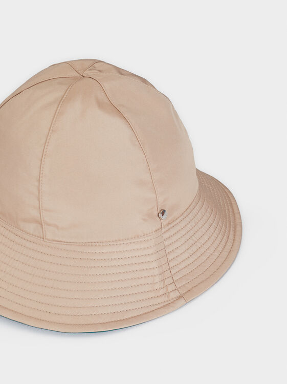 Waterproof Rain Hat, Beige, hi-res