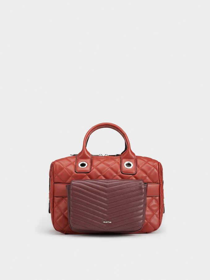 Boogie Tote Bag, Brick Red, hi-res