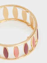 Petrified Elastic Bracelet, Multicolor, hi-res
