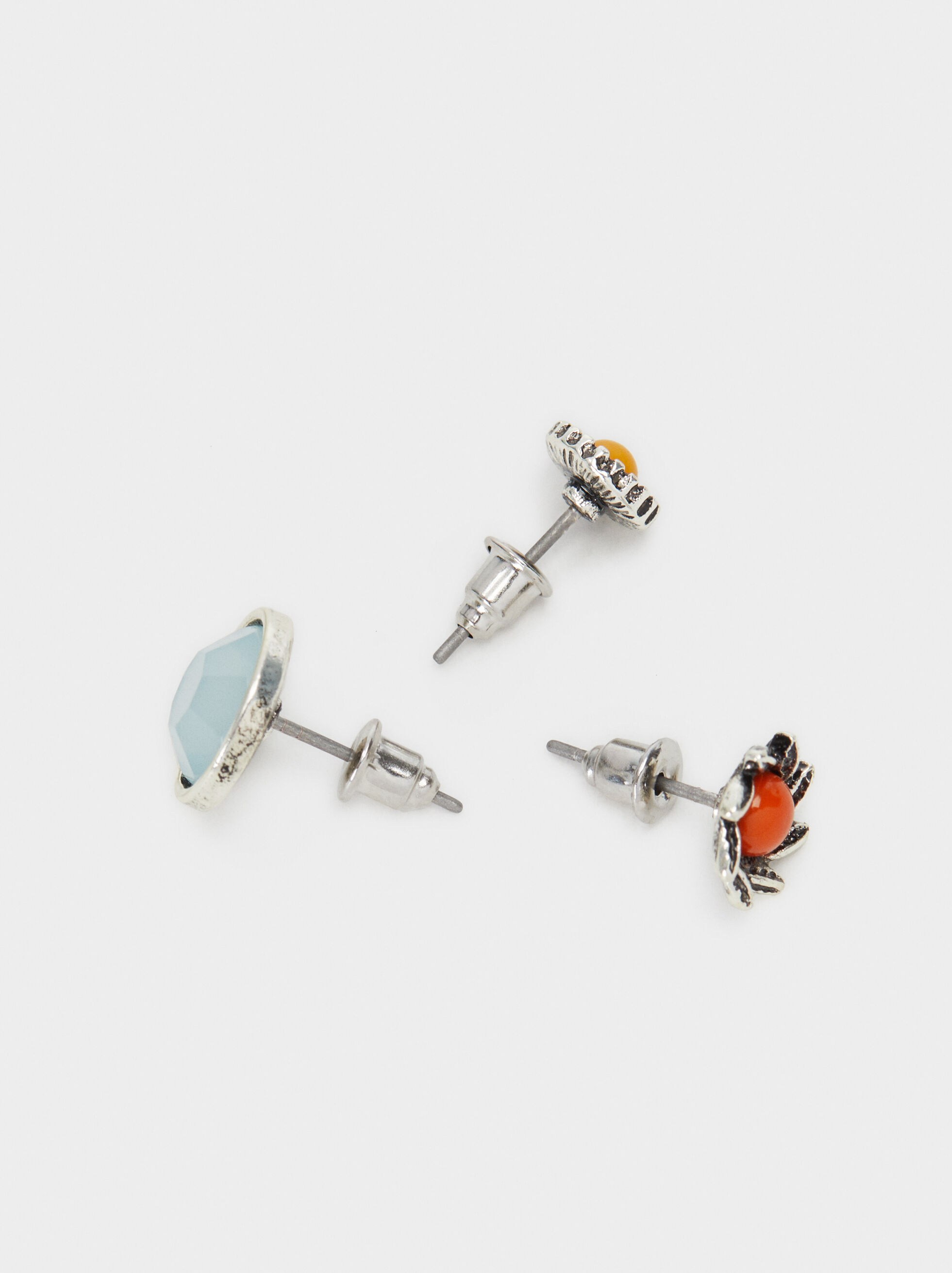 Star Valley Earring Set, Multicolor, hi-res