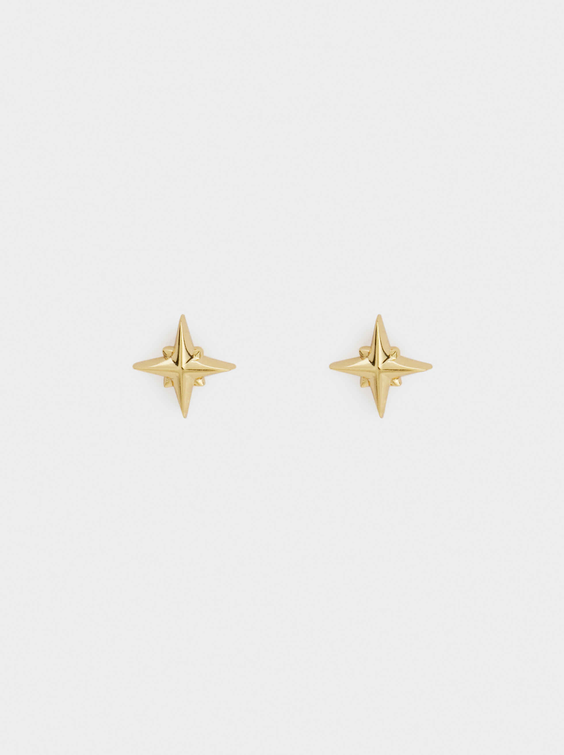 925 Silver Star Studs, , hi-res