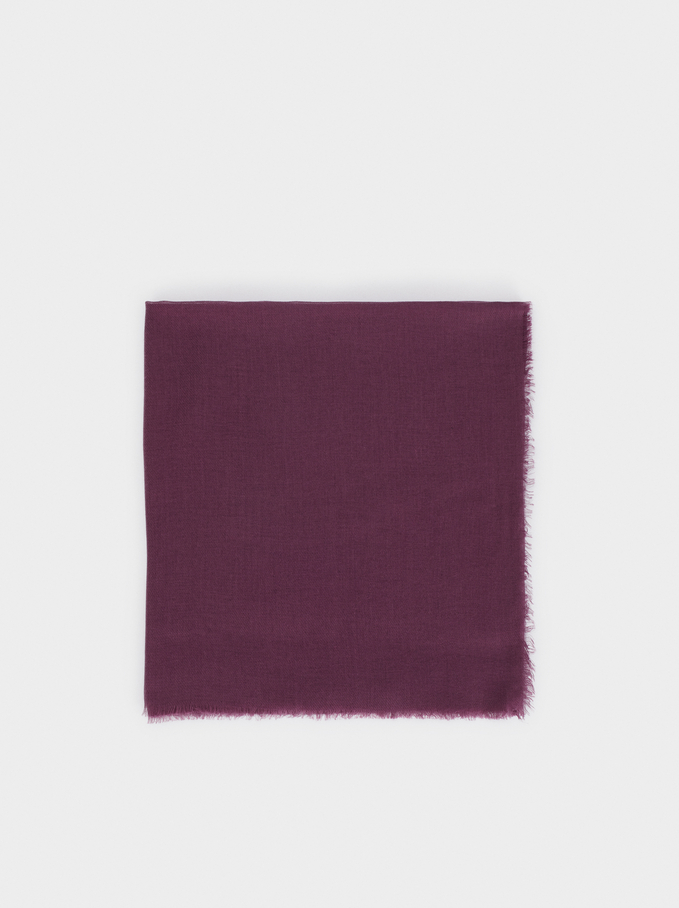 Pashmina Lisa, Bordeaux, hi-res