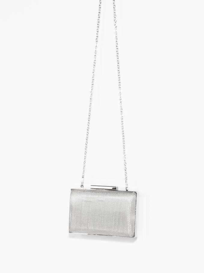 Forever Box Bag, Silver, hi-res
