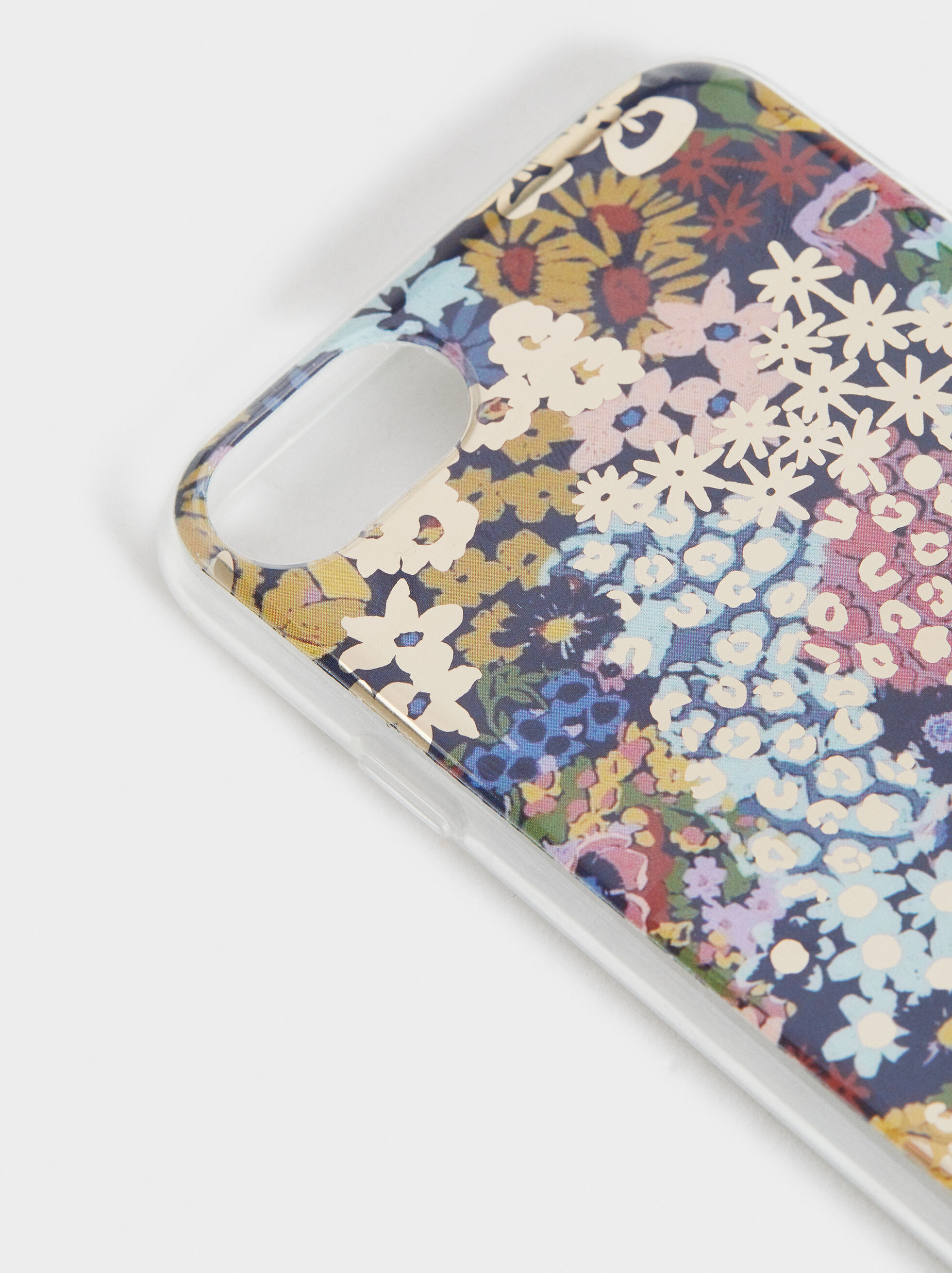 Capa Iphone 6/7/8 Estampado Floral, Multicor, hi-res