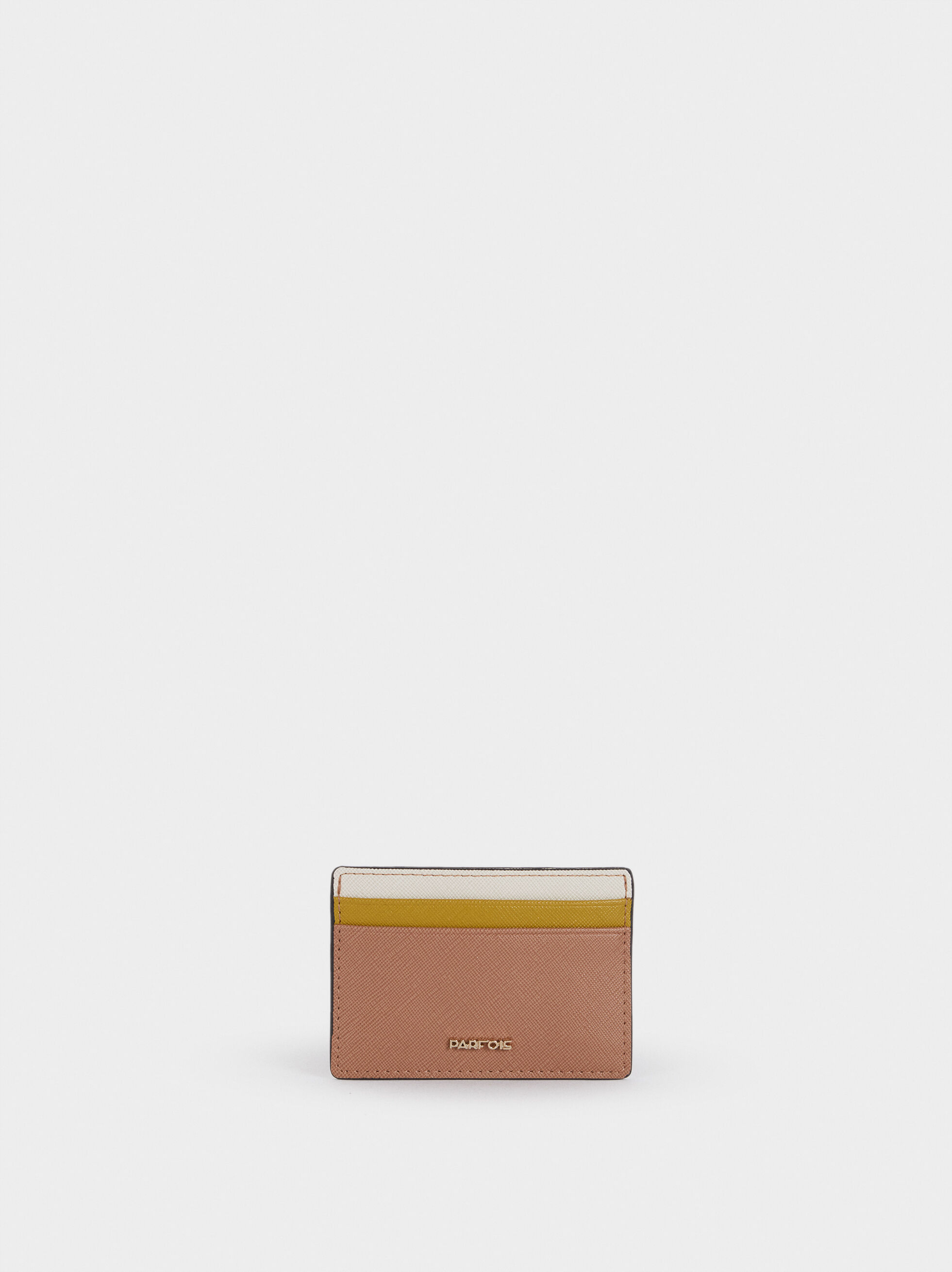 Embossed Card Holder , Pink, hi-res