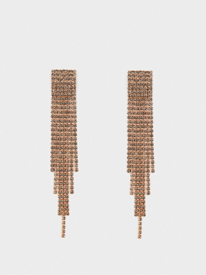 Long Dangle Earrings, , hi-res